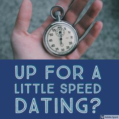 Got you with the title! My idea of speed dating is probably not what you thought of when you read the title, speed dating in my world is more like speed networking. In my main gig, networking is …