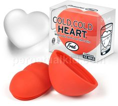 Cold Cold Heart Ice Mold. Good when your love is on the rocks.  Stay frosty my friends! GREAT VDAY GAG GIFT