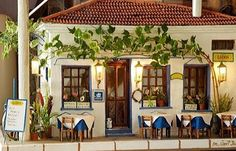 Bozcaada Lodos Cafe turkey Gazebo, Pergola, Cafe Bistro, Istanbul Turkey, Summer Colors, Exotic, Gallery Wall, Around The Worlds, Outdoor Structures