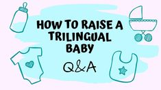 How to raise a trilingual baby is what Davis and Nika want to know. I´m going to analyze their personal situation to help them find a strategy for their mult. Raising, How To Become, Success, Baby, Newborn Babies, Infant, Baby Baby, Doll, Babies