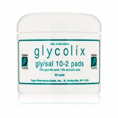 Glycolix Elite Gly-Sal 10 Percent-2 Percent Pads at DermStore