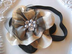 Floral Headband Fascinator Flower by lewisandbucky