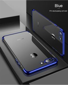 Luxury Soft Silicon Transparent Case for iPhone X 10 XS Max XR Protective Fitted Case For iPhone 7 8 7Plus 8Plus Phone Cover For iPhone 6S 6 s 6Plus 6SPlus Iphone 7 Plus, Iphone 7 Cases, Free Iphone, T Mobile Phones, New Phones, Smartphone, Capas Iphone 6, Apple Iphone, Samsung