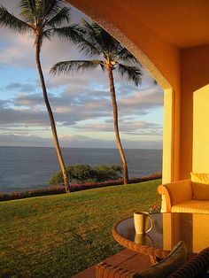 Early morning  Lanai, Hawaii
