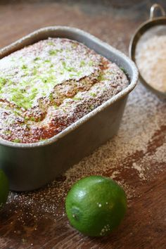 EVOO, lime and Yoghurt cake Lime Recipes, Sweet Recipes, Yummy Drinks, Yummy Food, My Favorite Food, Favorite Recipes, Thermomix Desserts, Wonderful Recipe, Food Inspiration