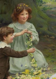 Arthur_John_Elsley_The Joy of Spring dress (526×744)