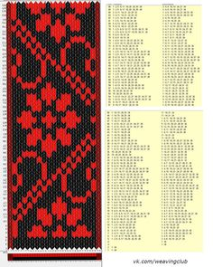 38 cards, 3 colors, repeats every 100 rows, GTT Inkle Weaving, Inkle Loom, Card Weaving, Weaving Art, Tablet Weaving Patterns, Weaving Textiles, Loom Patterns, Finger Weaving, Diy Couture