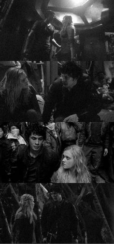 Bellamy Blake and Clarke Griffin (Bob Morley and Eliza Taylor) || The 100 ships: Bellarke