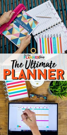 Join the One Stop Life Planner Club and start customizing the perfect planner to fit YOUR life.with updated planners every single year! Planner Tips, Travel Planner, Meal Planner, Life Planner, Happy Planner, Arc Planner, Discbound Planner, Study Planner, Planner Covers