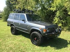 1985 Toyota Land Cruiser F60 Immaculate 4x4 XD Wheels Winch Roof Rack - Everything FJ60