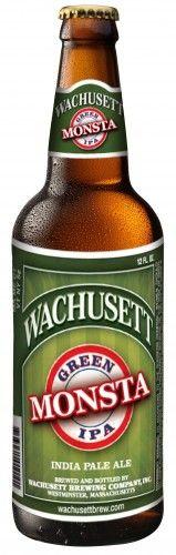 Wachusett Green Monsta IPA #craftbeers