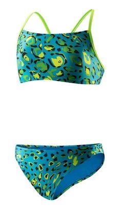 51ff1162ffb $31.42 - Speedo Women's Flipturns 2 PC Workout Bikini Speedah Cheetah #speedo  Bikini Workout,