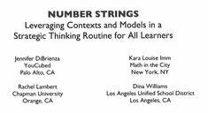 multiplication strings – Number Strings
