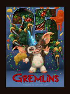 """Community: 22 Fan-Made """"Gremlins"""" Posters"""