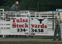 Tulsa Stockyards a long time sponsor of the Will Rogers Stampede