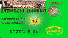 #weusetv feat #Etruschifootball #Etruschi #Livorno Vs #Storm #Pisa - #1Q - (6-34) - 16/03/04