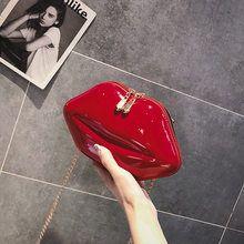 Tienda Online Bolso de mano con forma de corazón rojo rosa
