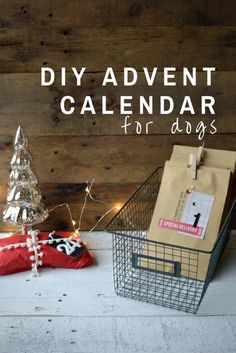 DIY Advent Calendar for Dogs! What a fun gift idea for a parent of a fur baby.