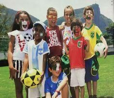 En Colombia el Mundial de futbol se vive asi ...