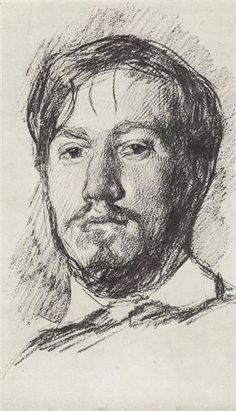 Self-Portrait - Serov Valentin - WikiArt.org - the encyclopedia of painting