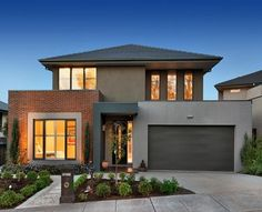 Modern Exterior Homes When you think of building a new home you are faced with two choices, build a traditional house or choose a modern house plan. Because the word modern means 'current for…