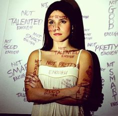 """""""Television has been using their platform to talk about body image issues in young adults for years. The iconic show """"One Tree Hill"""" showed a vulnerable side to sassy and sexy character Brooke Davis in Season 3 Episode Christina Luu Brooke Davis, Movies And Series, Tv Series, Image Blog, Self Image, All That Matters, Makes You Beautiful, Beautiful Things, You're Beautiful"""