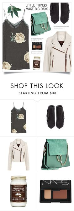 """""""Little Things, Big Days ..."""" by marina-volaric ❤ liked on Polyvore featuring MANGO, Eugène Riconneaus, Étoile Isabel Marant, Chloé and NARS Cosmetics"""