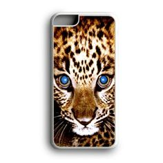 Babie Leopard Blue Eyes Cute Custom for iPhone Case and Samsung Case