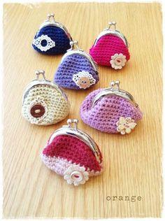 cute little coin purses!