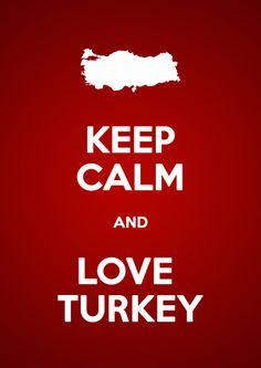 #Turkey #Türkiye #love #font #keepcalm #backround