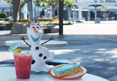 Magic Kingdom 24-hour event food list ~ The Beach Party which will take place during the 24-hour event at Magic Kingdom will feature Olaf from Disney's Frozen