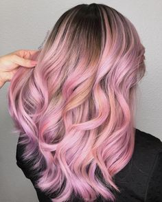 55 Lovely Pink Hair Colors: Tips for Dyeing Hair Pink - 55 Lovely Pink Hair Colors: Tips for Dyeing Hair Pink Pink Hair Colors Ideas: Tips for Dyeing Hair Pink Hair Tips Dyed Pink, Hair Dye Tips, Colored Hair Tips, Hair Color Pink, Hair Dye Colors, Dye My Hair, Cool Hair Color, New Hair, Blonde Hair With Pink Tips
