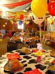 Resultado de imagen para decoracion de fiesta tema vaqueros