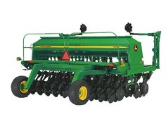 1590 No-Till Drill Gabe Brown uses this drill and prefers a single disc opener for good soil contact