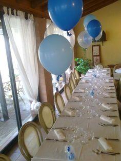 centrotavola palloncini balloons centerpiece