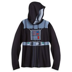 Darth Vader Costume Hooded Tunic for Women by Her Universe - Star Wars Darth Vader Costumes, Unique Hoodies, Star Wars Tshirt, Disney Merchandise, Disney Star Wars, Hoods, T Shirts For Women, Clothes, Universe
