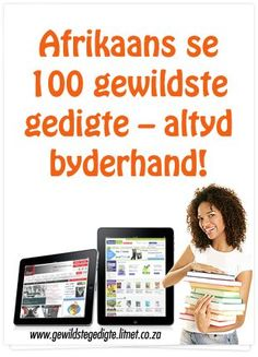 Afrikaans Language, Recommended Books To Read, School Library Displays, Teaching Posters, Afrikaans Quotes, Kids Poems, Early Education, Home Schooling, Child Development