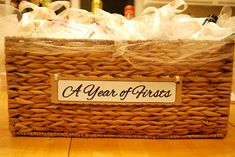 "DIY ""Perfect Pairs"" Bridal Shower Gift 