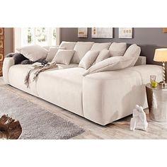 Home affaire Big-Sofa, Breite 302 cm in Microfaser PRIMABELLE® im Online Shop von Baur Versand
