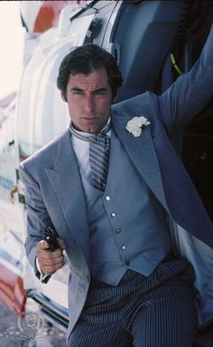 Timothy Dalton is James Bond in License To Kill