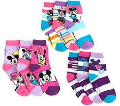 little missmatched Disney Pastel Mickey & Minnie Crew Socks Shoes Heels Boots, Heeled Boots, Mickey Shoes, Parent Gifts, Disney Trips, Xmas Gifts, Crew Socks, Qvc, Parents