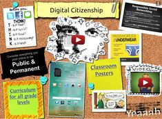 TOUCH this image: Digital Citizenship by ShakeUpLearning