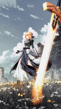 Fate Zero Kiritsugu, Arte Dark Souls, Type Moon Anime, One Punch Anime, Cool Anime Pictures, Night Illustration, Arturia Pendragon, Fate Stay Night Anime, Mobile Art
