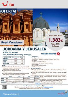 Jordania y Jerusalén. 8 días/7 noches.Miércoles y Domingos.Octubre con TK. Precio final desde 1.383€ ultimo minuto - http://zocotours.com/jordania-y-jerusalen-8-dias7-noches-miercoles-y-domingos-octubre-con-tk-precio-final-desde-1-383e-ultimo-minuto-2/