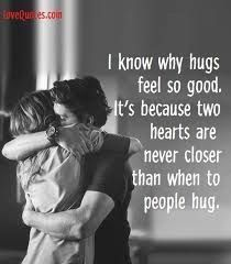 Hugs are the best! They make people feel welcomed, warm, and totally loved. So, that's why we compiled the best hug quotes to remind us why we love them! Need A Hug Quotes, Sweet Love Quotes, Love Quotes For Her, Romantic Love Quotes, Couple Quotes, Me Quotes, Hurt Quotes, Night Quotes, Queen Quotes