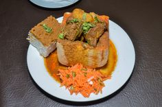 It's a perfect day in Durban for a mouth-watering bunny chow & don't forget to ask for our bunnybox in store! Chow Box, A Perfect Day, Cornbread, Don't Forget, Bunny, Store, Ethnic Recipes, Food, Millet Bread