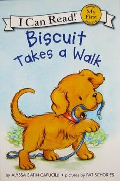 Biscuit Takes a Walk (My First I Can Read) by Alyssa Satin Capucilli, http://www.amazon.com/dp/0061177466/ref=cm_sw_r_pi_dp_yXQbrb1HQ1MRM
