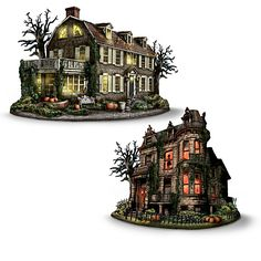 America's Most Haunted Village Collection- The Bradford Exchange, Hawthorne Village Division, is thrilled to offer a special opportunity to reserve America's Most Haunted Village Collection, a collectible tribute to the macabre mysteries of some of the most haunted places in America.  The collection will begin with, Amityville House.