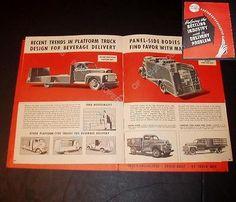 1949-1950-FORD-Bottler-Delivery-Truck-Brochure-Catalog-PICKUP-PANEL-COE-F-1-F-2