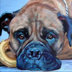ALLIE, original painting by artist Suzanne Berry | DailyPainters.com